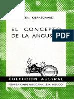 El concepto de la angustia - S. Kierkegaard.pdf