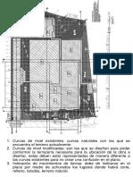 Ejemplo de Planos de Terraceria Modificada