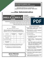 Funcab 2012 Sesc Ba Auxiliar Administrativo Prova