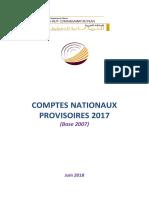 Comptes Nationaux Provisoires 2017 (Rapport Complet)