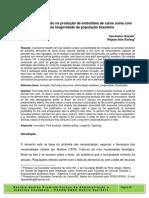 Gestao e Inovacao Na Producao de Embutidos de Carne Suina Com Foco Na Longevidade Da Populacao Brasileira