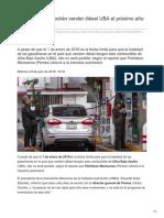 Gasolineras no podrán vender diésel UBA el próximo año