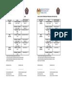 Jadual Waktu Peperiksaan Percubaan Upsr Pra 1 2018