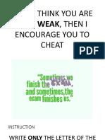 Prelim Exam