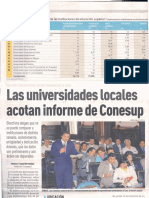 EExpreso - Informe CONESUP