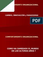 Cambio Innovacion Paradigma