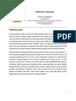 Tinjauan Pustaka Blok 22 - Parkinson's Disease (2012).docx