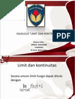 Limit Dan Kontinuitas Ppt 1
