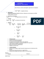 Chapter 4.2 i Algebraic Fractions Enhance
