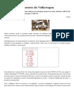 Esquema Dos Sensores Do Volkswagen - Revista O Mecânico