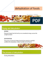 Drying and Dehydration of Foods
