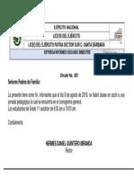 N° 093 CIRCULAR JORNADA PEDAGOGICA