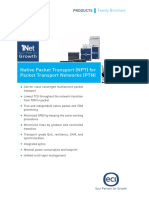 Native Packet Transport Npt Family Brochure