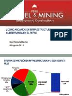 1Como Andamos en Infraestructura Subterranea en El Perú
