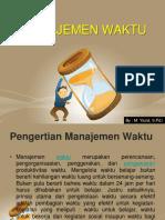 materi manajemen waktu