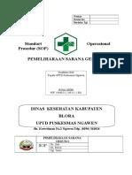 SPO Pemeliharaan sarana prasarana dan alat.doc