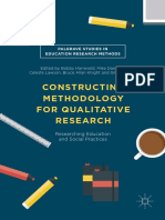 PalgraveConstructin Methodology for Qualitative Research