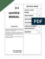 Manual Motor d20dt Kyron