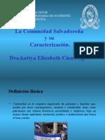 La comunidad salvadoreña y su caracterizacion