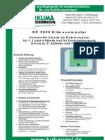 SC 2000 Klimacomputer