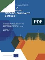 Estudio de Vulnerabilidad Sismica Del Gran Santo Domingo