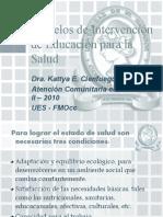 Modelo de Intervencion Para La Salud