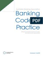 Banking Code of Practice 2019