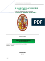 1) Reacciones de Hidrogenacion y Deshidrogenacion-nik Abigael Quispe Valenzuela 131631