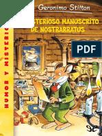 El Misterioso Manuscrito de Nos - Geronimo Stilton.pdf