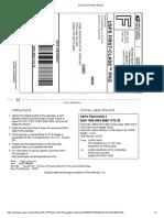 Print Postage Label
