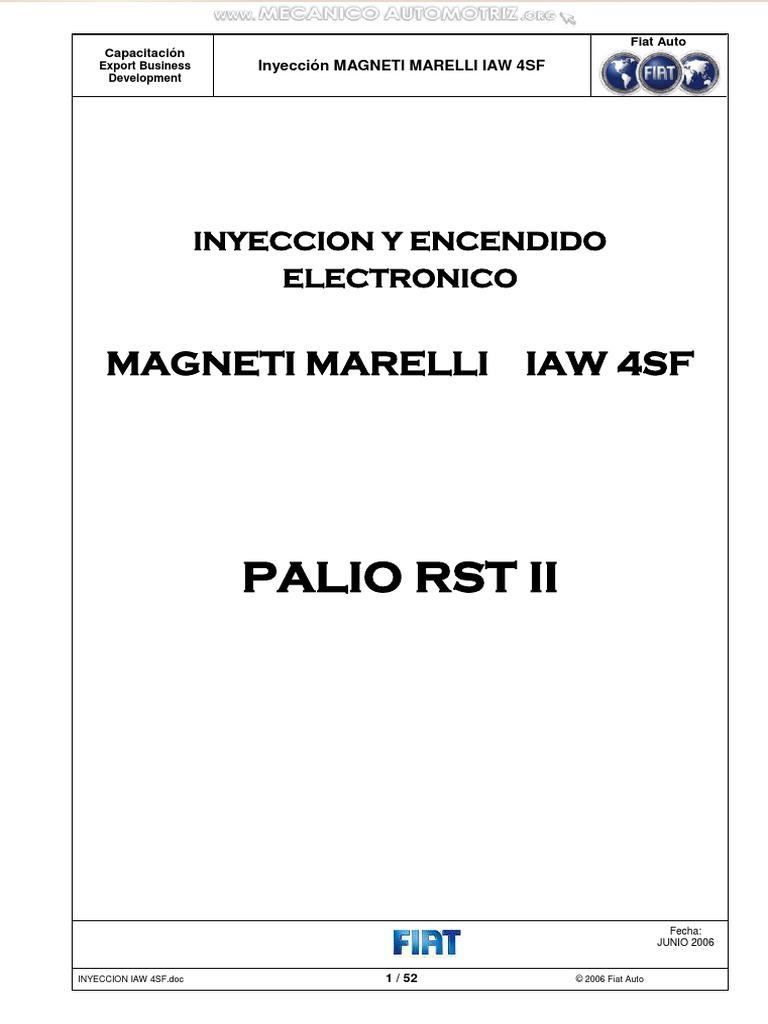 Manual Inyeccion Encendido Electronico Magneti Marelli Iaw