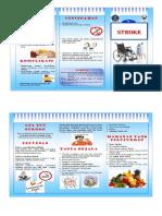 Leaflet Diare, Stroke