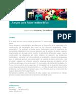 Juegos para hacer matemática.pdf