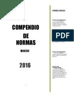 INDICE-compendio  de Normas.docx