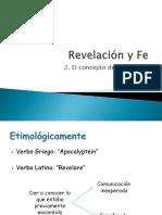 2.- Concepto de Revelación
