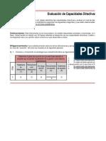 Cuestionario y Tabulador de Capacidades Directivas