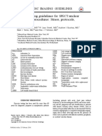 ASNC SPECT ProtocolsTracers Guidelines2016