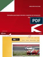 Manual-Instruções Para Download de Materiais ANSYS