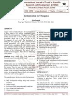 Rurbanization in Telangana