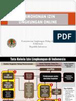 Materi Sistem Informasi Permohonan Penerbitan Izin Lingkungan Online