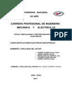 Instalación y Protección de Motores Eléctricos