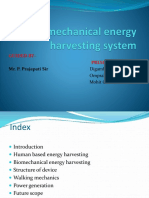 Biomechanical Energy Harvesting System (1)