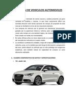 Selección de Vehiculos Automoviles-Ing Automotriz