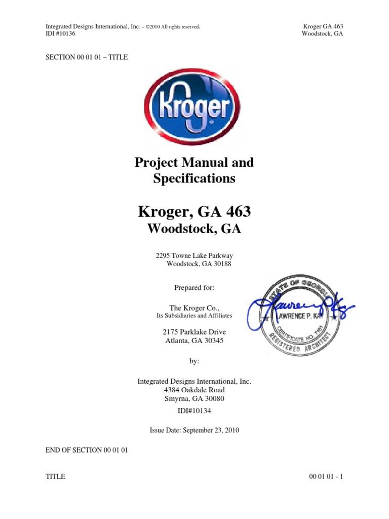 GA463 Specs | Construction Bidding | Letter Of Credit