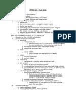 APUSH Unit 1 Study Guide