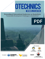 Proceedings of ICGeotechnics
