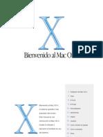 Bienvenido a Mac OS X