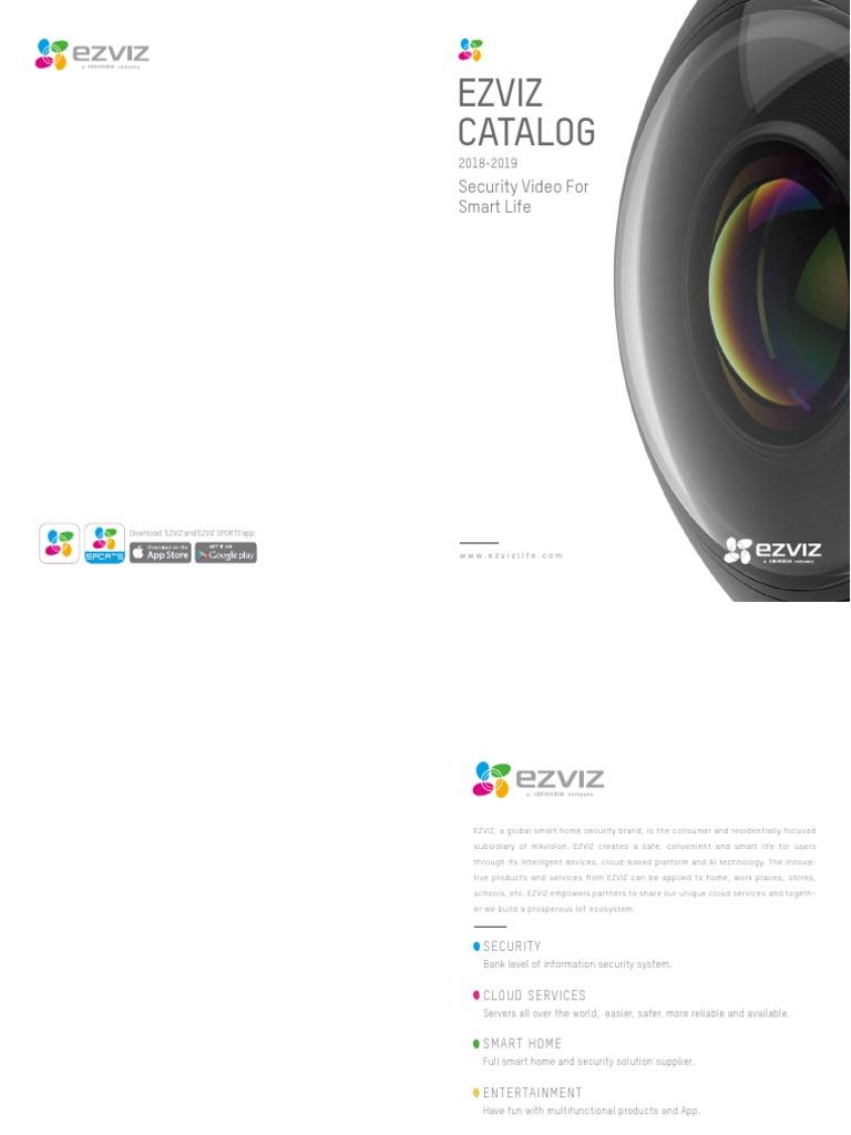 EZVIZ_catalog2018_0206 | Ieee 802 11 | Wi Fi