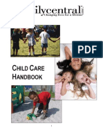 Family Central Broward Child Care Handbook -English