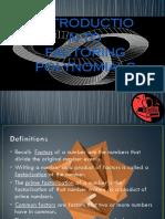 Factoring Polynomial Presentation